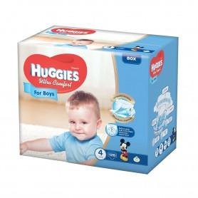 Huggies Ultra Confort Boy 4 (126) 8-14Kg