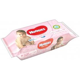 Huggies Soft - Servetele Umede Copii 56