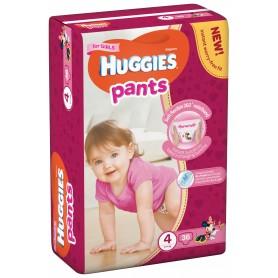 Huggies Pants Nr.4 Girl 36Bc 9-14Kg