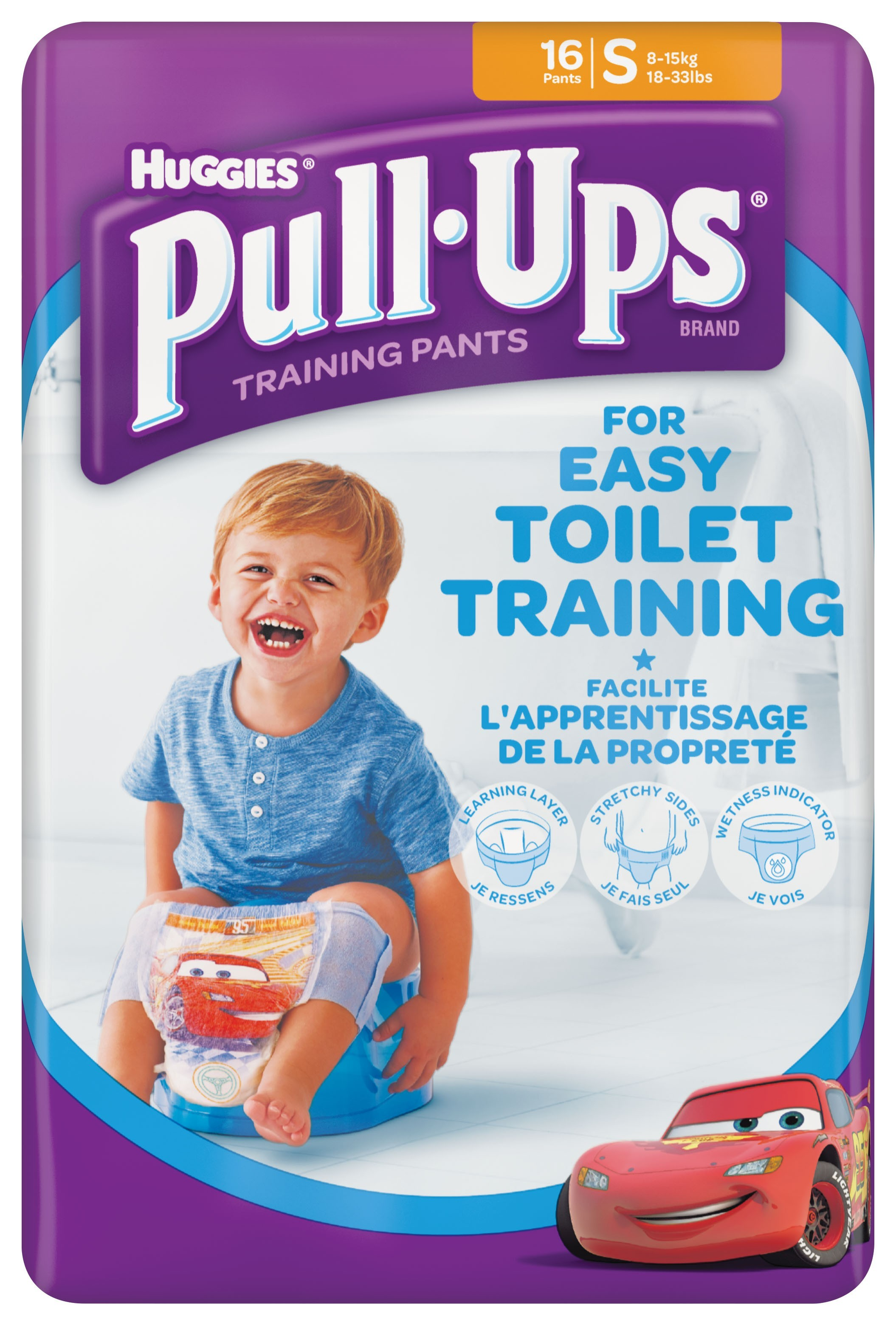 huggies pull - ups boy - chilotei tranzitie copii s/4 (8-15kg)