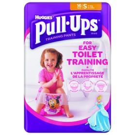 Huggies Pull - Ups Girl - Chilotei Tranzitie Copii S/4 (8-15Kg)