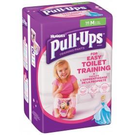 Huggies Pull - Ups Girl - Chilotei Tranzitie Copii M/5 (11-18Kg)