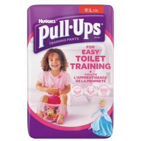Huggies Pull - Ups Girl - Chilotei Tranzitie Copii L/6 (16-23Kg)