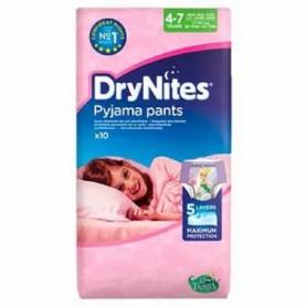 Huggies Drynites Girl 4-7 Ani (17-30Kg)-Chilotei De Noapte