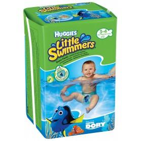 Huggies Little Swimmers - Chilotei Impermeabili Copii 3-4(7-15Kg)