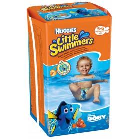 Huggies Little Swimmers - Chilotei Impermeabili Copii 5-6(11-18Kg)