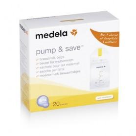 Pump &Save -Pungi De Colectare Lapte Matern X20Bc