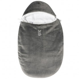 Portbebe Cocoon 70X44Cm(Anthracite -White))