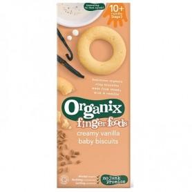 Finger-Biscuiti bebelusi - Lapte si vanilie ,10+, eco