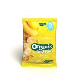 Finger-Rondele din orez expandat-Banane*50g,7+, eco