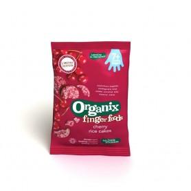 Finger-Rondele din orez expandat-Cirese*50g ,7+, eco