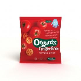 Finger-Snack-Feliute din porumb expandat- rosii&morcovi*20g ,7+, eco