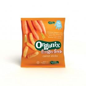 Finger-Snack-Stixuri din porumb expandat - morcovi*20g ,7+, eco