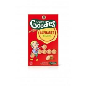 Goodies-Biscuiti alfabet 5x25g ,12+,eco