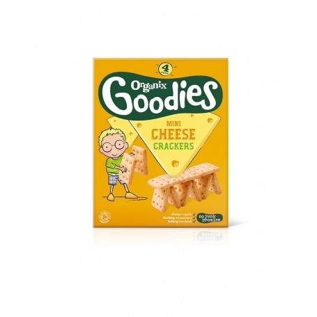 Crackers -Mini Cheese 4x20g , 12+,eco