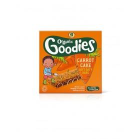 Goodies-Batoane din cereale-morcov,mere 6x30g ,12+, eco