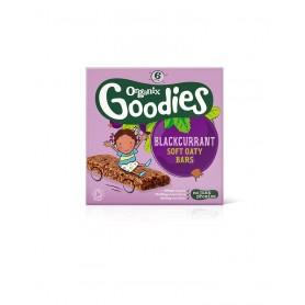 Goodies-Batoane din cereale-mere,coacaze 6x30g ,12+, eco