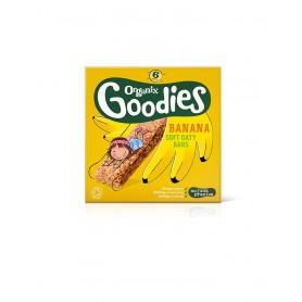 Goodies-Batoane din cereale-mere,banane 6x30g ,12+, eco