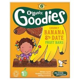 Goodies-Batoane din fructe-banane 6x17g ,12+, eco