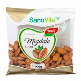 MIGDALE CRUDE INTREGI 100G SANOVITA