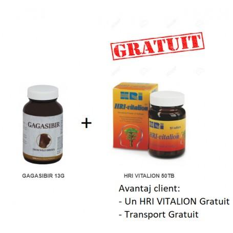 Pachet Gagasibir 13 G + HRI VITALION 50 TB