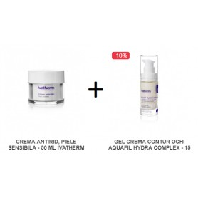 Oferta Crema Antirid 50 ML + Gel Crema Contur Ochi 15 ML