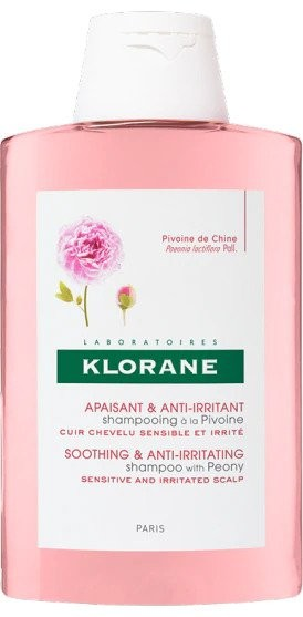 Sampon Klorane cu Extract de Bujor pentru Scalp Iritat - 200 ML
