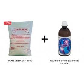 Pachet Sare De Bazna + Reumalin 500 ML (calmeaza durerile)