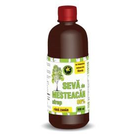 Sevă de Mesteacăn Sirop cu Indulcitor Natural Stevia Rebaudiana - 500 ML