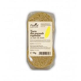 Turte din Porumb Expandat cu Sare de Mare Pronat -50 g