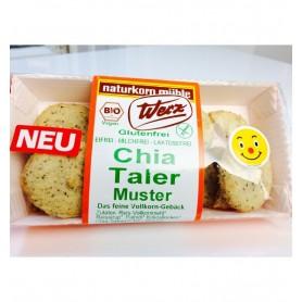 Fursecuri Bio cu Seminte de Chia fara Gluten Werz - 100g