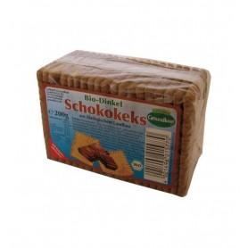 Biscuiti Bio cu Alac si Ciocolata, 200 g, Gesundkost