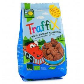 Traffix Biscuiti Bio din Grau Spelta si Cacao Bohlsener Mühle - 150 g
