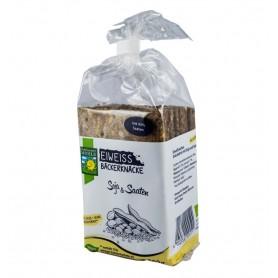 Paine Crocanta BIO Bogata in Proteine cu Soia si Seminte Bohlsener Muhle - 200 g