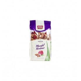 Musli Bio Crocant cu Zmeura si Migdale Rosen Garten - 375 g