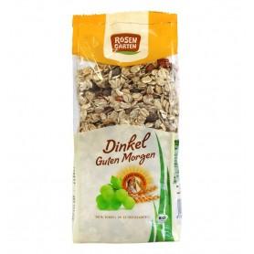 Musli Bio cu Grau Spelta si Fructe Uscate Rosen Garten - 500 g