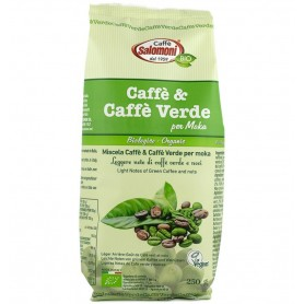Cafea Verde, Bio, 250g Salomoni