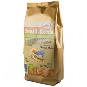 Bautura din Cereale Bio prajite si Cicoare 0% Cofeina, 500g Salomoni