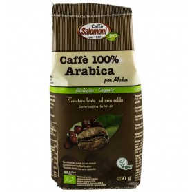 Cafea Bio 100% Arabica, 250 g Salomoni