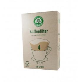 Filtre pentru Cafea Gr. 4 Lebensbaum - 100 bucati