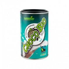 Bio Pudra de Cacao cu Menta pentru Ciocolata Calda Schweitzer - 250 g