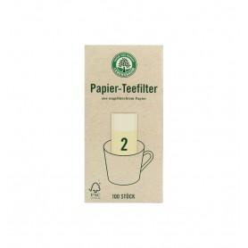 Lebensbaum - Filtre pentru ceai, Gr. 2, 100 bucati