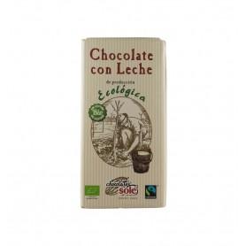 Ciocolata cu Lapte Bio si Fairtrade Chocolata Sole - 100 g
