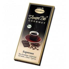 Ciocolata Amaruie Espresso Gesundkost Liebhart's Amore Bio 55% cacao - 100 g