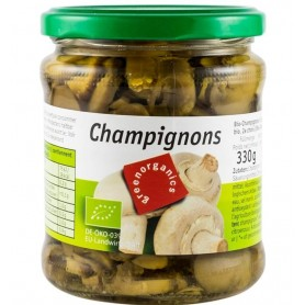 Ciuperci Champignon Bio Green organics - 330g/170g