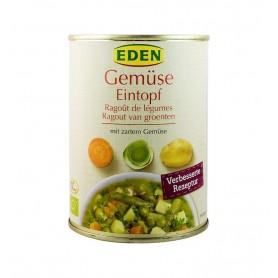 Eden - Mancare bio de legume, 560g
