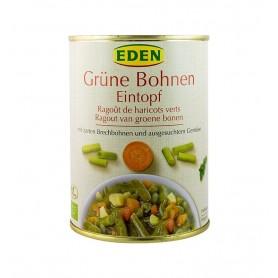 Eden - Ghiveci bio de fasole verde, 560g
