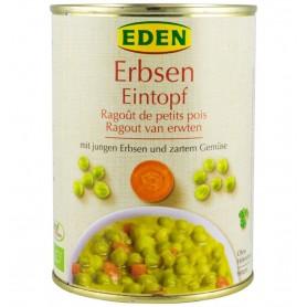 Mancare Bio de Mazare Eden - 560 g