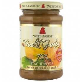 Gem bio de agrise, indulcit cu sirop de agave, 225 g