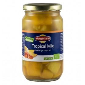 Morgenland – Compot BIO, mix din fructe tropicale, 360g/230g